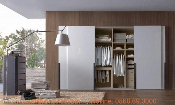 Tủ đựng quần áo thông minh